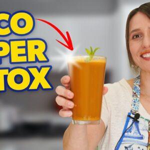 Nutricionista ensina o melhor SUCO DETOX para emagrecer e desinchar