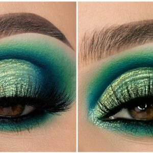 Esfumado & Cutcrease PERFEITOS🍀🍀#shorts Gorgeous Makeup Idea 2021 by @Chaleendeed