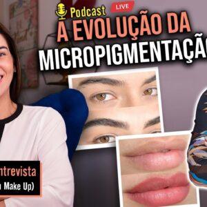 A Melhor MICROPIGMENTAÇÃO de Lábios, Sobrancelhas, Manchas Brancas, Cabelos  e +