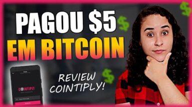 COINTIPLY FUNCIONA? Pagou $5 Em BITCOIN - Várias Formas de Ganhos! (REVIEW COMPLETO)