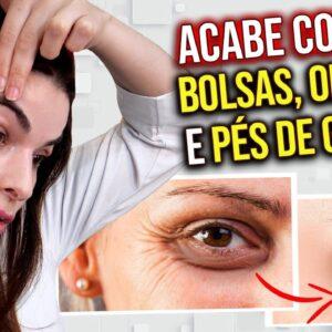 USE 1 COLHER  e ACABE com Pés de Galinha, Bolsas e Olheiras 🥄