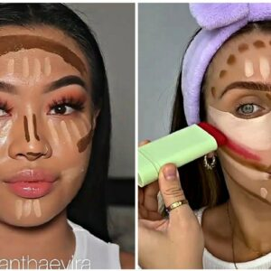 Os Melhores Tutoriais de Maquiagem das Gringas 💜New Makeup Trends 2021
