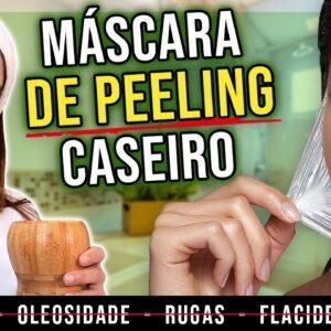 Faça MÁSCARA DE PEELING CASEIRO com Resultado PROFISSIONAL