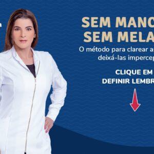 ACABE COM AS MANCHAS DE PELE, INCLUSIVE O MELASMA