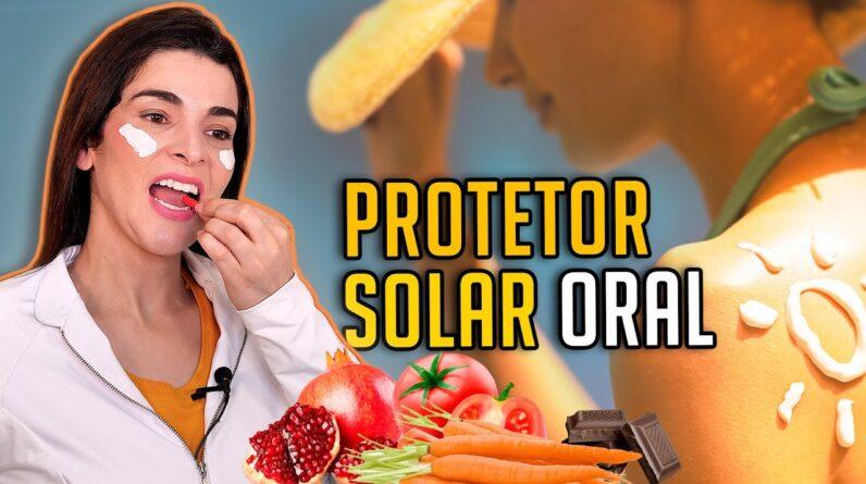 Clareie Manchas, Melasma e Proteja a Pele com PROTETOR SOLAR ORAL