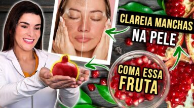 Coma essa Fruta para Clarear Manchas na Pele, Melhorar a Beleza e Saúde