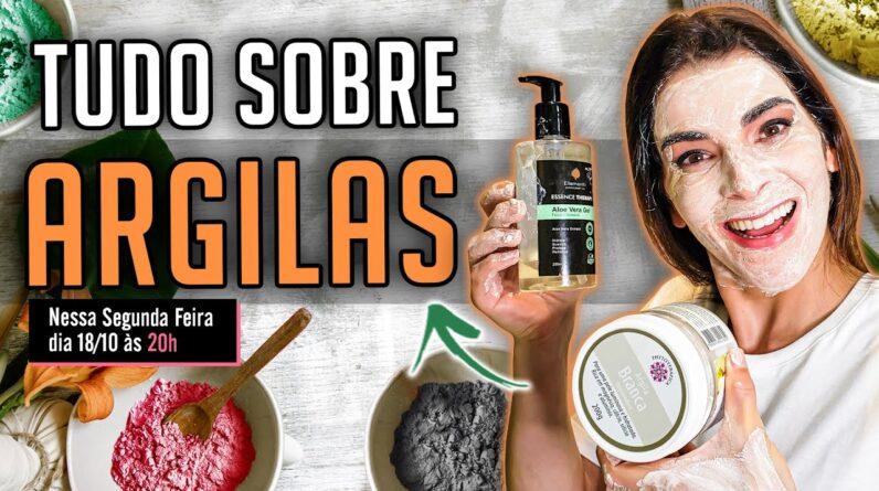 Use Argilas na Pele do Rosto, Corpo e nos Cabelos, O RESULTADO É IMPRESSIONANTE !