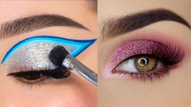 Os Melhores Tutoriais de Maquiagem das Gringas💜New Eye Makeup Trends 2022